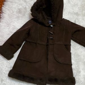 Baby Gap Suede Coat - 5Yrs - $38